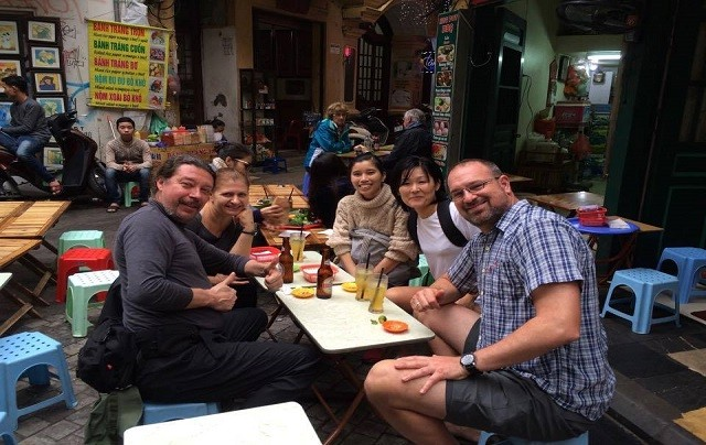 Private food tour in Hanoi