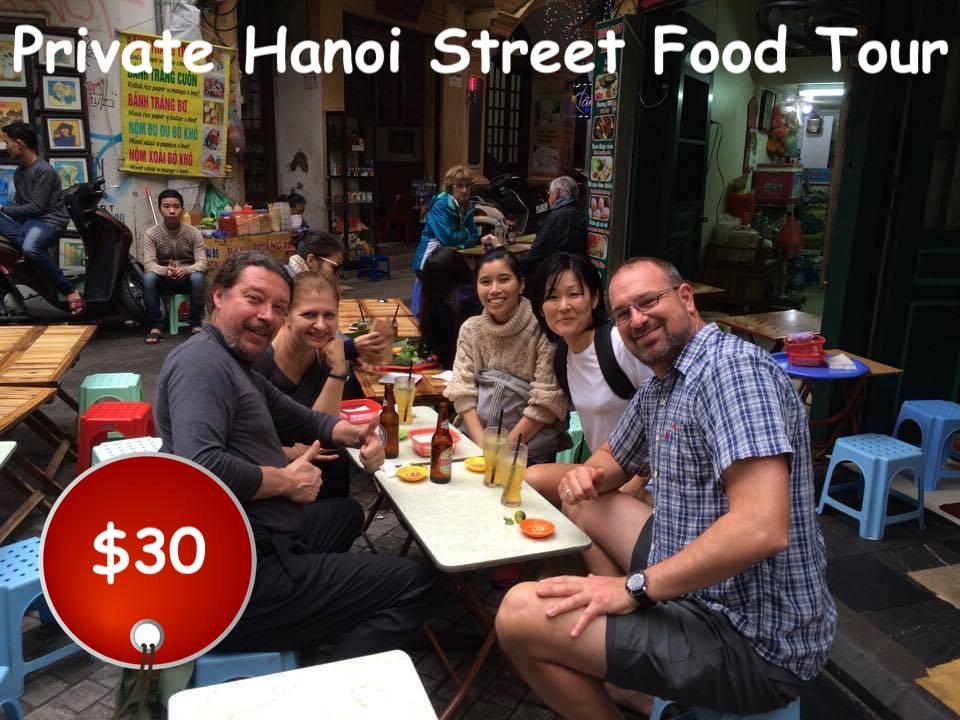 Private Food Tour in Hanoi