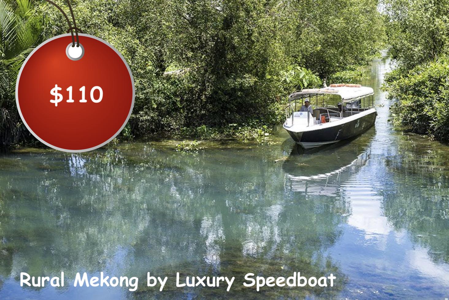 Mekong Delta by Speedboat